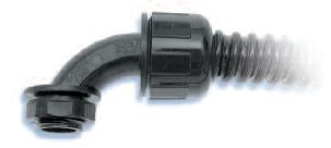 Heyco-Flex Liquid Tight Conduit Fittings 90 Sweep NPT Hubs