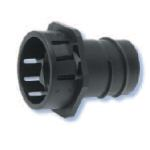 Heyco-Flex Quick Twist Conduit Fittings Straight-Thru Snap-In Hubs