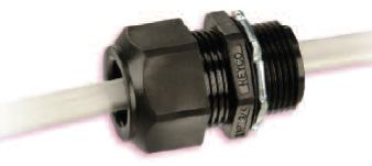 Heyco-Tite Liquid Tight Romex Connectors Straight-Thru NPT Hubs