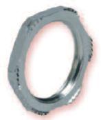 Heyco-Tite EMC Brass Locknuts PG and Metric Hubs