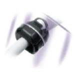 Heyco Original Strain Relief Bushings Straight-Thru for Round Cables