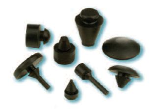 Heyco Rubber Push-In Bumpers
