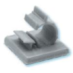 HEYClip Nylon Wire Clips-Adhesive Backed