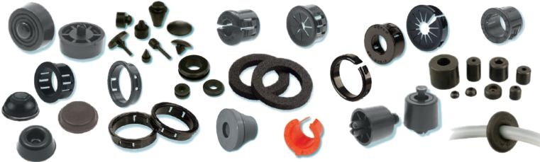 Heyco® Bushings, Grommets, Bumpers, and Feet