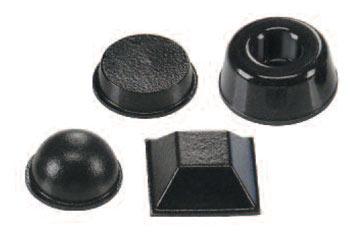 Heyco® Polyurethane Adhesive-Back Bumpers