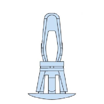 Heyco® Nylon PCB Supports - Reverse Locking