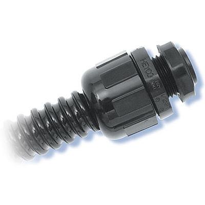 Heyco-Flex™ Liquid Tight Conduit Fittings (Straight-Thru, NPT Hubs)