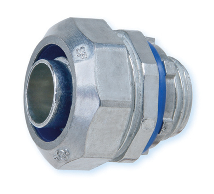 Heyco-Flex™ Zinc Die-Cast Liquid Tight Conduit Fittings (Straight-Thru, NPT Hubs)