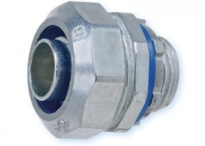 Heyco-Flex™ Zinc Die-Cast Liquid Tight Conduit Fittings (Straight-Thru, NPT Hubs)