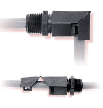 Heyco®-Tite Liquid Tight Cordgrips (Right Angle)