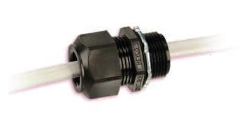 Heyco®-Tite Nylon Liquid Tight Romex® (Oval Hole) Connectors