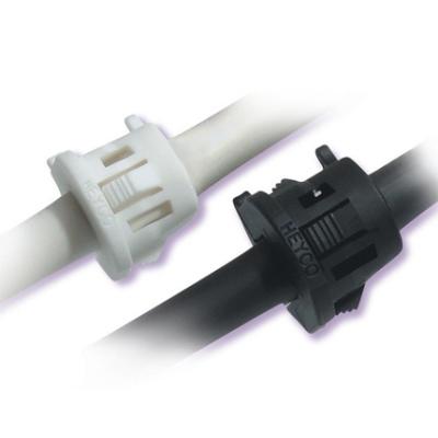 Heyco® RDD Lockit™ Strain Relief Bushings (Straight-Thru Round)