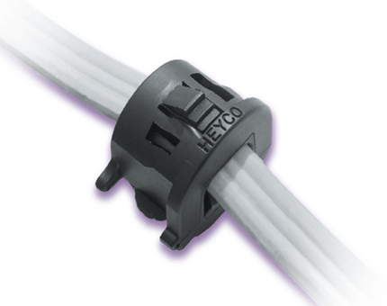 Heyco® RDD Lockit™ Strain Relief Bushings (Straight-Thru Flat)